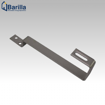 Plain Tile Bracket (incl. M8x20 Bolt & Serrated Nut)